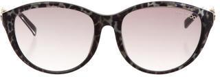 Jimmy ChooJimmy Choo Marbled Cat-Eye Sunglasses