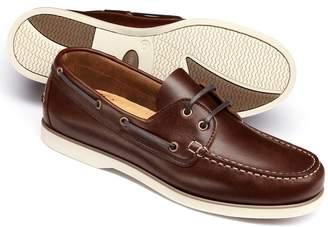 Charles Tyrwhitt Brown Boat Shoe Size 12