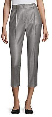 Peserico Women's Prince of Wales Cropped Pants