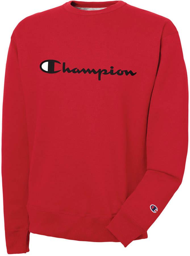 Champion Men's Powerblend Script Logo Sweatshirt