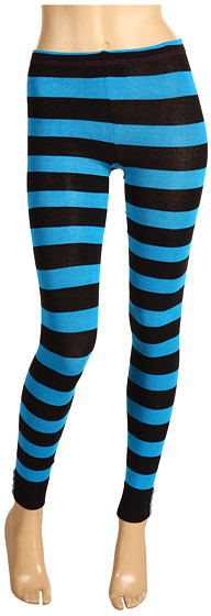 Betsey Johnson 2 Pack Betsey Bowtie Legging/ Splendid Stripe Sweater Footless