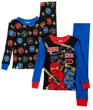 Lego SGI Apparel Ninjago Ninja Mode On Cotton PJs - Set of 2 (Little Boys & Big Boys)