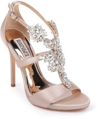 5516f713b65d Badgley Mischka Collection Leah Embellished Sandal