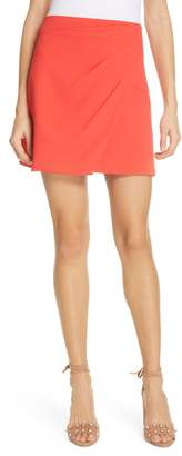 Alice + Olivia (アリス オリビア) - Alice + Olivia Shaylee Asymmetrical Drape Wrap Miniskirt
