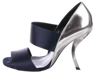 Roger Vivier Satin Multistrap Sandals