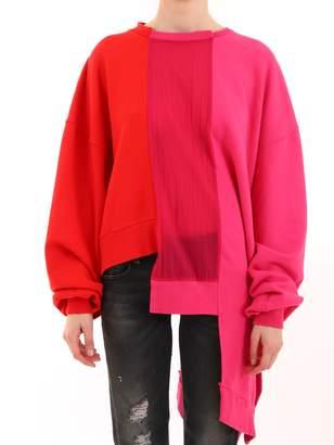 Taverniti So Ben Unravel Project Sweatshirt Bicolor