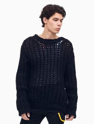 Calvin Klein Chunky Knit Crewneck Pullover