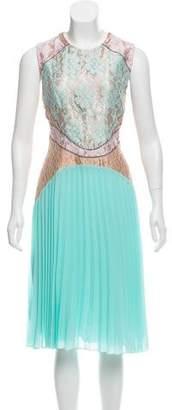 Christopher Kane Sleeveless Midi Dress