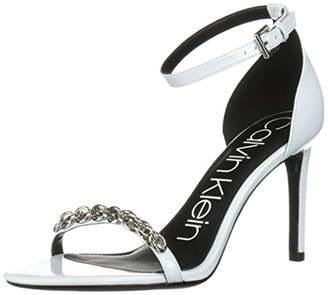 f4789071ec6 Calvin Klein Blue Women s Sandals - ShopStyle