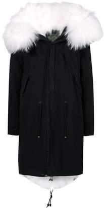 Mr & Mrs Italy fur hood parka coat
