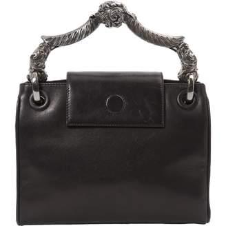 Gianfranco Ferre Black Leather Handbag