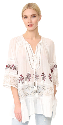 Free People You're Mine Peasant Blouse $168 thestylecure.com