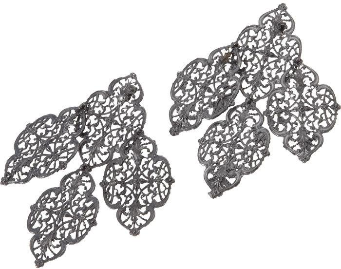 Barbara Biffoli Filigree Earrings