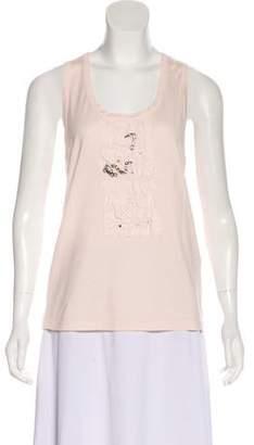 Chloé Embellished Sleeveless Top