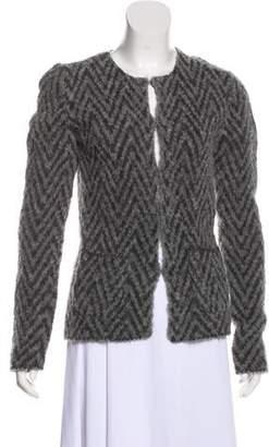 Les Copains Long Sleeve Wool Cardigan