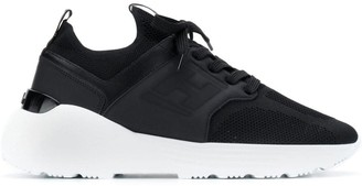 Hogan mesh upper sneakers