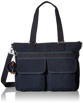 Kipling Pia Solid Tote with Lattice Detail