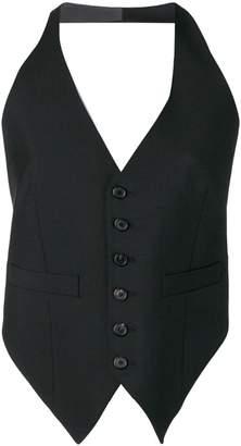 Dondup halterneck waistcoat