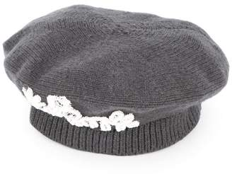 Maison Michel knitted beret