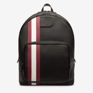 Sarkis Black, Men's coated canvas backpack in black