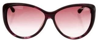 Tom Ford Malin Cat-Eye Sunglasses