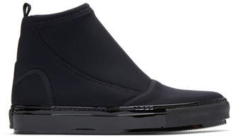 Marni Black Neoprene Boots