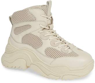 Jeffrey Campbell Pyro Wedge Sneaker Boot