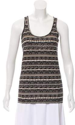 Marc by Marc Jacobs Printed Sleeveless Top w/ Tags