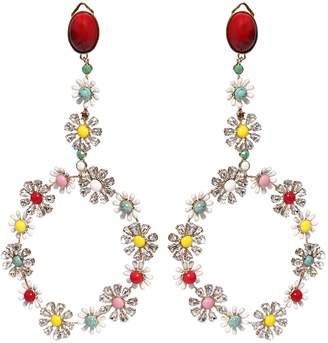 Elie Saab Big Creole Earrings