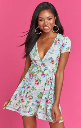 Show Me Your Mumu Ibiza Dress ~ Barbie Paradise Crinkle Stretch