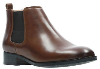 Clarks Netley Ella Leather Boots