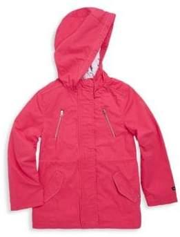 Catimini Little Girl's & Girl's Hooded Cotton Parka