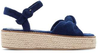 Coolway Bambi Canvas Wedge Sandals
