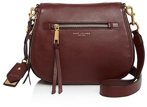 Marc JacobsMARC JACOBS Recruit Nomad Leather Saddle Bag