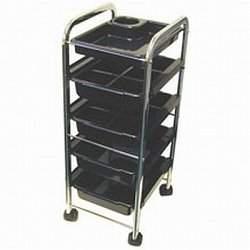 Burmax Celebrity 5-Tray Utility Trolley
