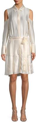 Alexis Abbi Cold-Shoulder Shirtdress