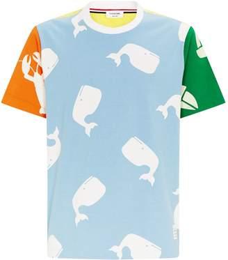 Thom Browne Sea Life Print T-Shirt