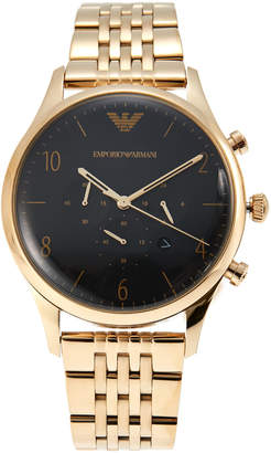 Emporio Armani AR1893 Gold-Tone & Black Watch