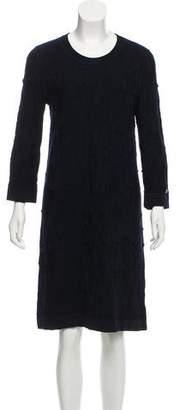 Chanel Textured Knee-Length Dress