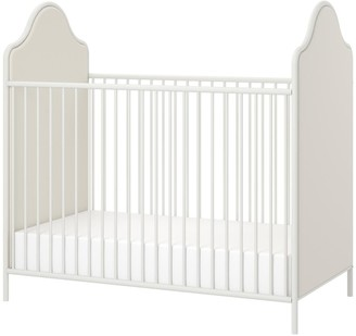 Little Seeds Piper Upholstered Metal Crib