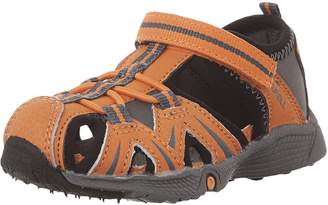 Merrell Hydro Junior Sport Sandals, Orange/Grey
