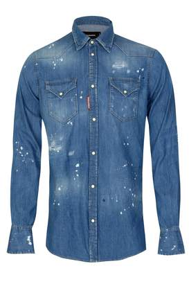 DSQUARED2 Dsquared Western Light Denim Shirt