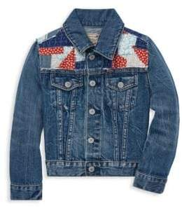 Ralph Lauren Little Girl's& Girl's Americana Denim Jacket