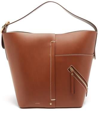 Joseph Waverton buckle-handle leather bag