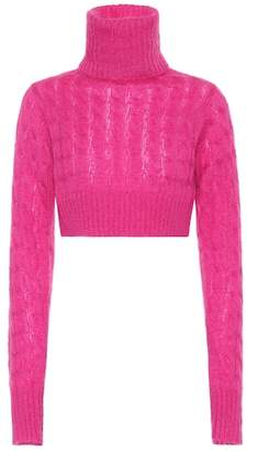Matthew Adams Dolan Mohair-blend turtleneck sweater