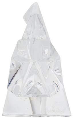 Baccarat Crystal Pig Figurine