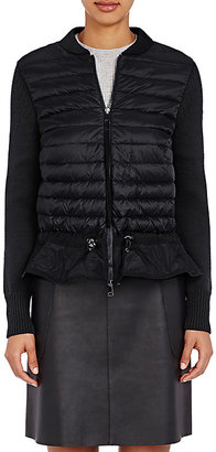 Moncler Women's Maglione Zip-Front Sweater $765 thestylecure.com