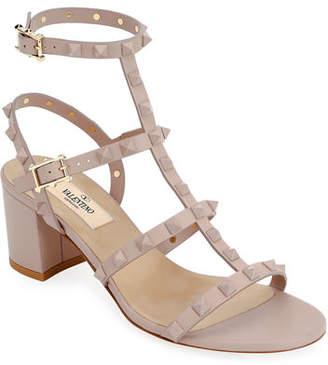 Valentino Rockstud Smooth Calf Sandals