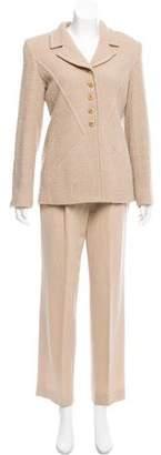 Sonia Rykiel Wool High-Rise Pantsuit