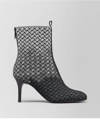 Bottega Veneta Teodora Boot In Intrecciato Knitted